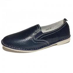 Мокасины Sheton A2864 синие...